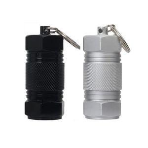 COFFRE D'EXTÉRIEUR 2 piluliers porte-clés en aluminium, grande capaci