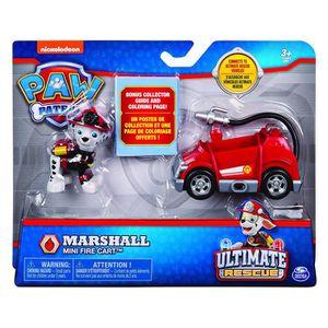 FIGURINE - PERSONNAGE Mini Véhicule + Figurine Ultimate Rescue - Marshal