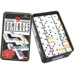 DOMINOS Dakota - Jeu de dominos DOUBLE 9