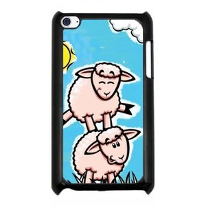 COQUE MP3-MP4 Coque pour Ipod Touch 4 - H Moutons LeapFrog
