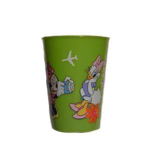 Verre à eau - Soda Gobelet Minnie Disney verre plastique enfant vert