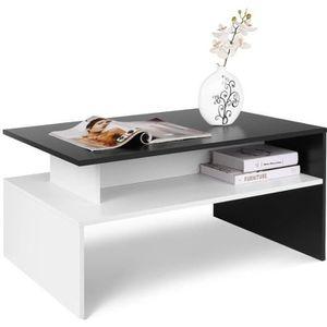 TABLE BASSE Homfa Table Basse de Salon Design Table de Salon e