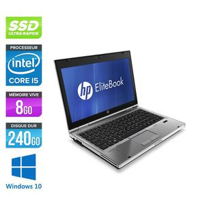 ORDINATEUR PORTABLE Pc portable HP EliteBook 2560P - i5 - 8 Go - 240 G