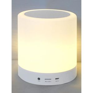 ENCEINTE NOMADE Enceinte Bluetooth Lumineuse 5W TOUCH LAMP