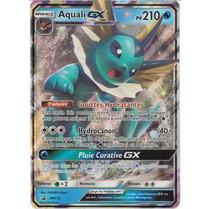 CARTE A COLLECTIONNER Carte unitaire Pokémon Aquali-GX N°SM172 Française