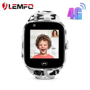 MONTRE CONNECTÉE LEC2 Pro 4G enfants montre intelligente GPS Wifi 6