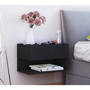 table de chevet murale achat vente pas cher. Black Bedroom Furniture Sets. Home Design Ideas