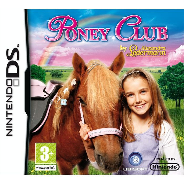 JEU DS - DSI PONEY CLUB BY ALEXANDRA LEDERMANN / JEU CONSOLE NI