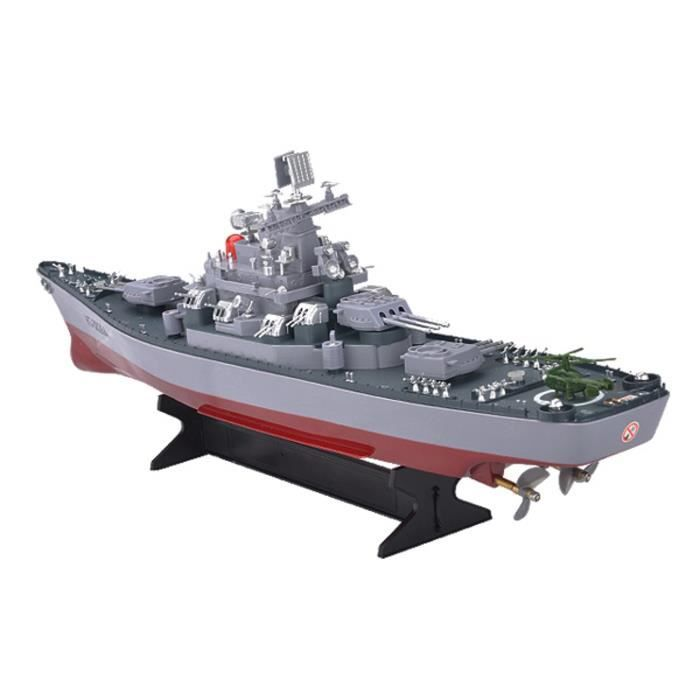 Missouri Uss Us Navy Battleship modèle militaire Bateau RC 1-250 Télécommande Marine Warship W4NNV