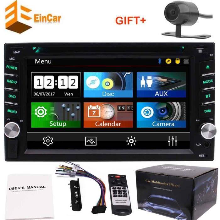Grimacer 8.0 Double din 2Din autoradio GPS autoradio ne 1080P au tableau de bord jeu vidéo Lecteur CD DVD autoradio automagnitol