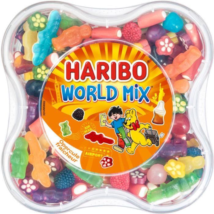 HARIBO Bonbons assortis World Mix - 750 g