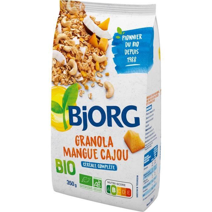 Bjorg Granola Mangue Cajou 350g