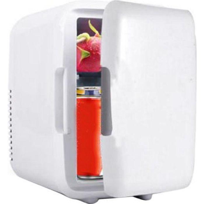 Appareils électriques de voiture mini réfrigérateur blanc