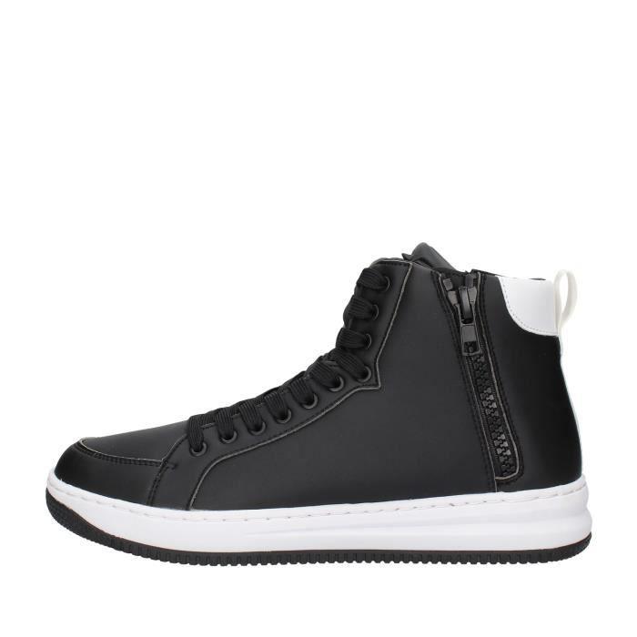 Ea7 X8Z007 chaussures de tennis faible homme NOIR