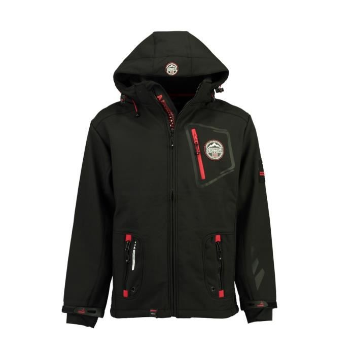 Softshell Homme Geographical Norway Tacebook Noir