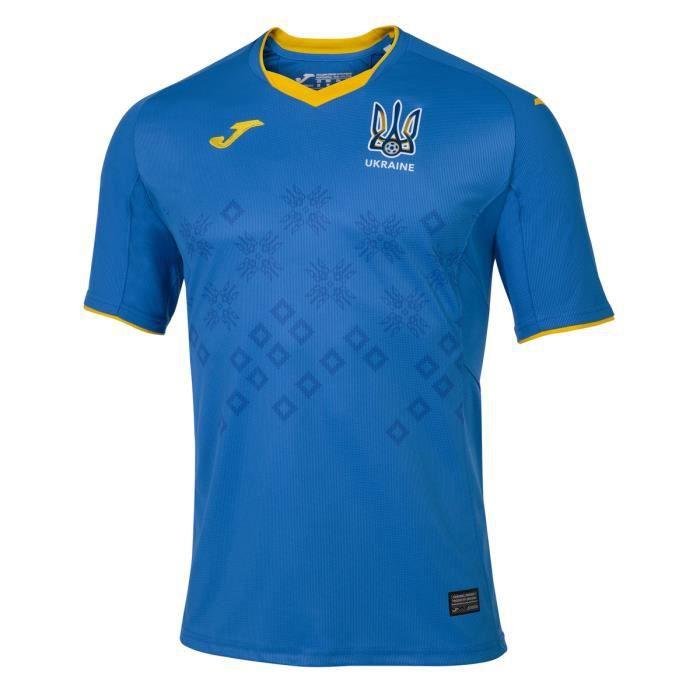 Maillot extérieur Ukraine 2020/21 - bleu royal - 3XL