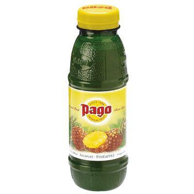 Jus de fruit ananas 50cl Pago - pack de 12
