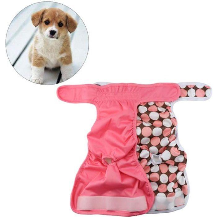 Chiot pour Shorts Culottes Sous-Vêtements Culotte Menstruel Couches TAPIS DE PROPRETE - APPRENTISSAGE DE PROPRETE - ALESE