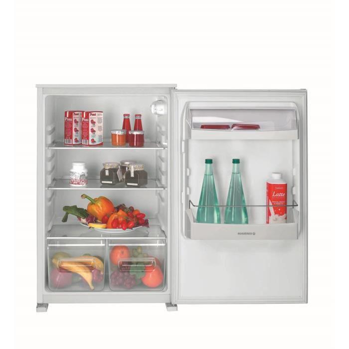 ROSIERES RBLP170 - Réfrigérateur table top encastrable - 138L - Froid statique - A+ - L 54cm x H 87cm