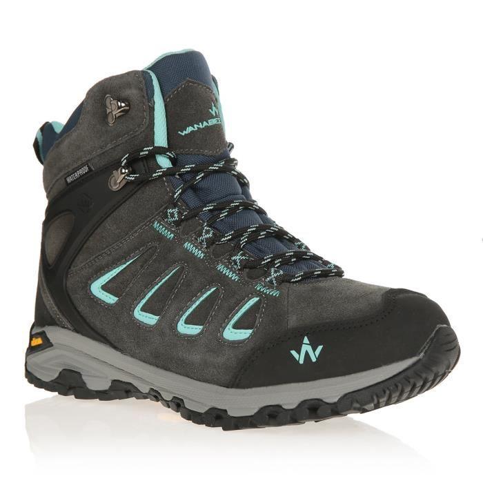 WANABEE Chaussures de randonnée Trek 400 2 High Wp M - Femme
