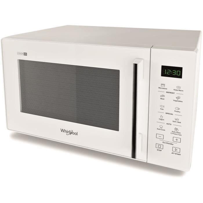 WHIRLPOOL Micro-onde MWP251W - 900W - 25L - Blanc