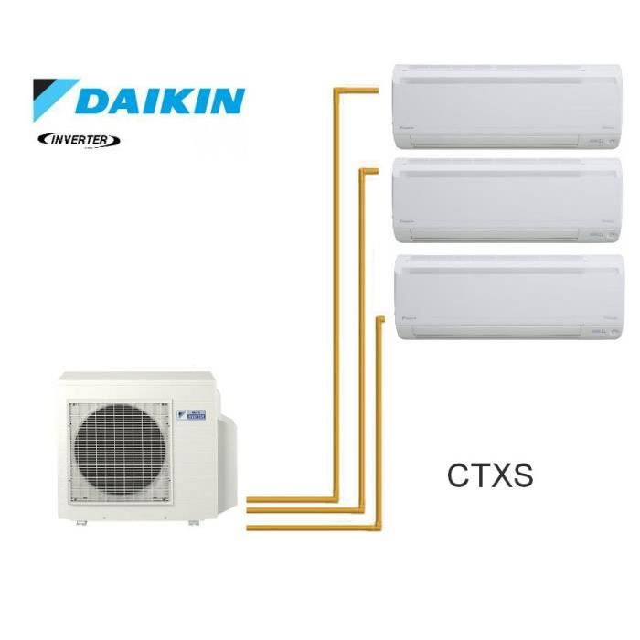 daikin trisplit inverter reversible 4mxs68f 2 achat vente pi ce chauffage clim daikin. Black Bedroom Furniture Sets. Home Design Ideas