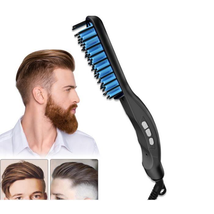 KIT RASAGE  Kit de Soins brosse a barbe poil sanglier rasage