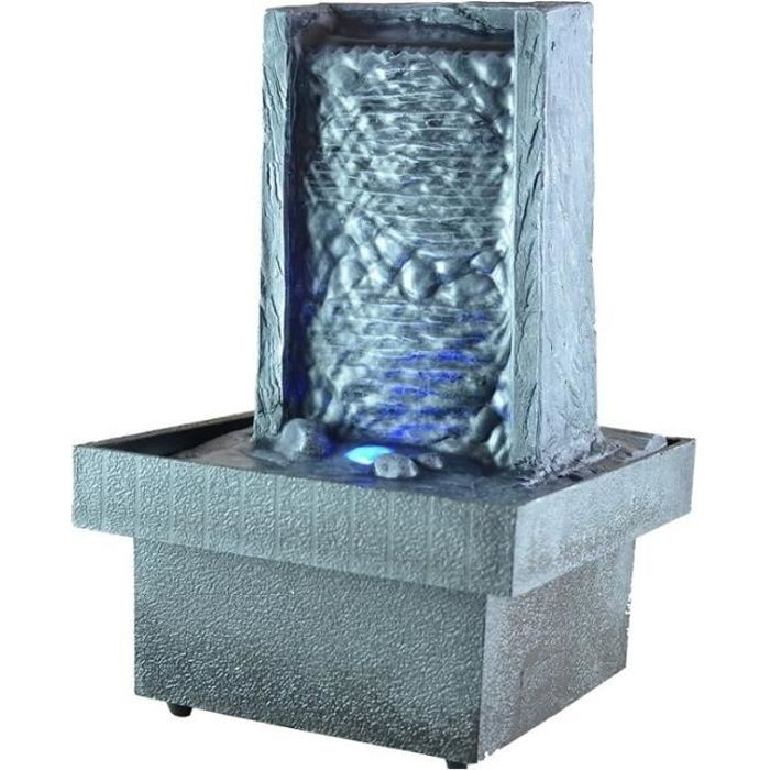 fontaine d 39 int rieur zen led eclairage d 39 am achat