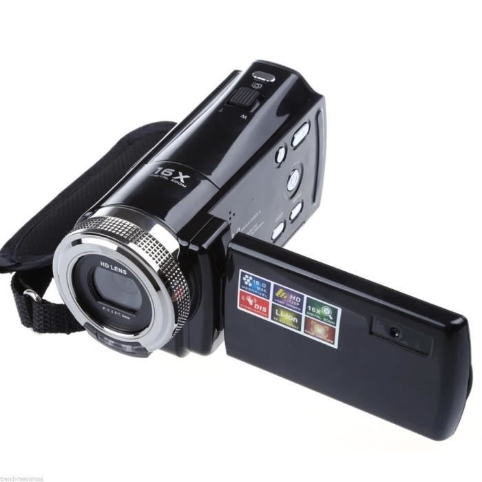 cam ra hd 720p 16mp cam scope num rique pour la fa achat vente cam scope num rique cdiscount