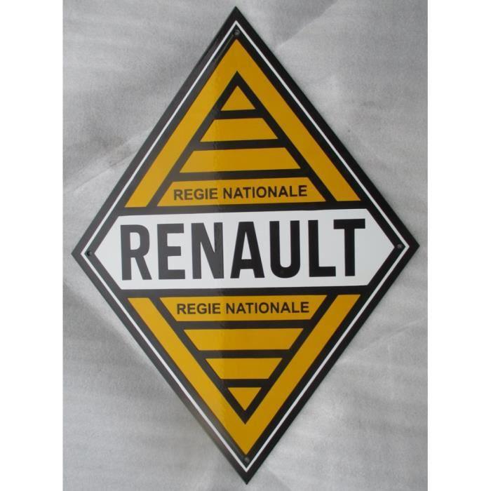AUTOCOLLANT STICKER REGIE RENAULT LOSANGE