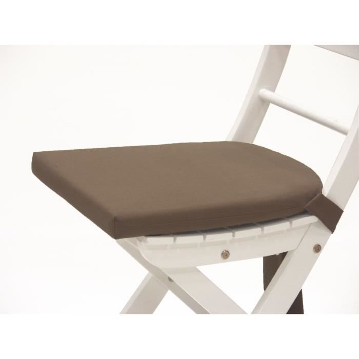 galette de chaise 1 java taupe achat vente coussin de chaise cdiscount. Black Bedroom Furniture Sets. Home Design Ideas
