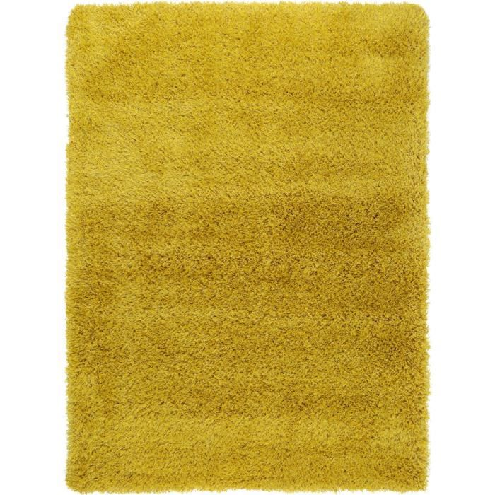benuta tapis poils longs sophie jaune 200x290 cm achat vente tapis cdiscount. Black Bedroom Furniture Sets. Home Design Ideas