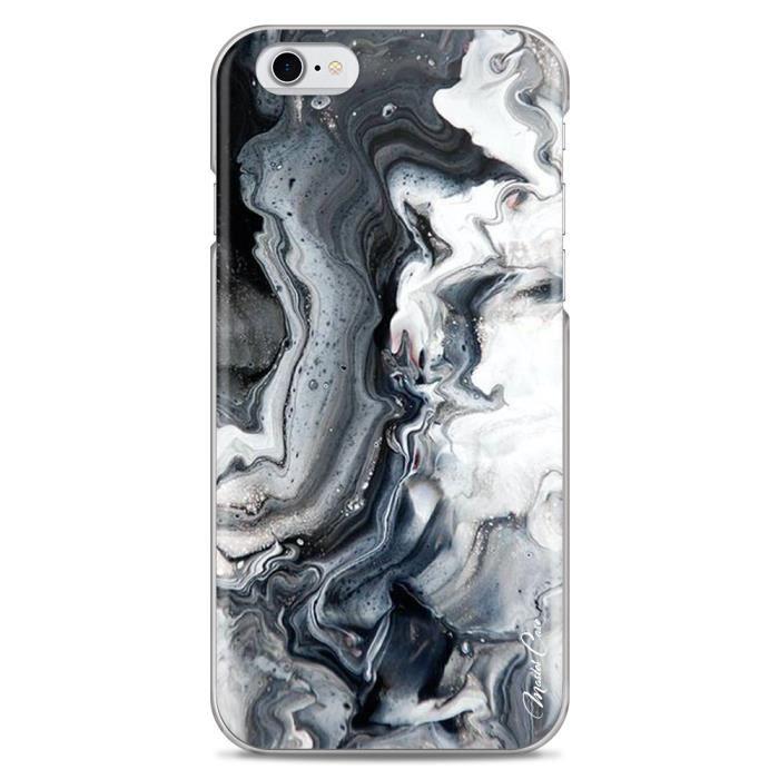 Coque iPhone 6/6S motif marbre, décor, art, design designer ...