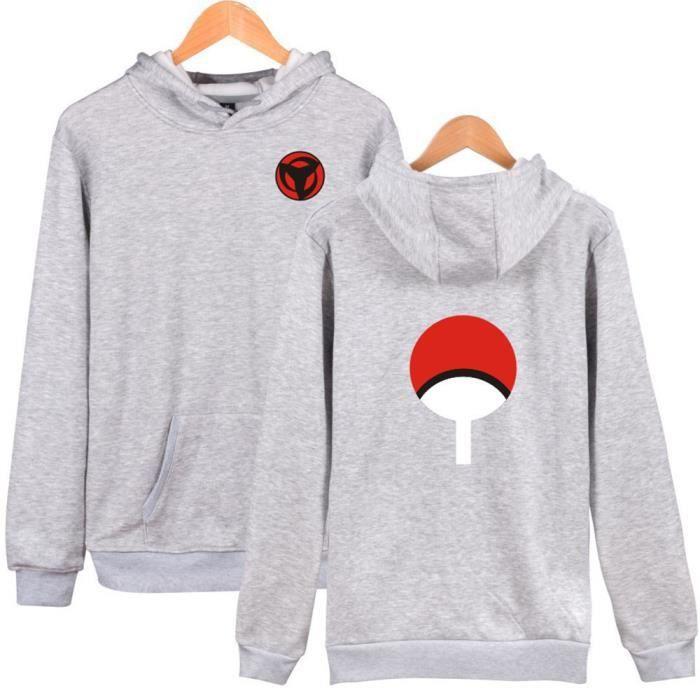 Jacket,NARUTO,Uchiha Sasuke,Sweat à capuche Sweatshirt à capuche hommes épais