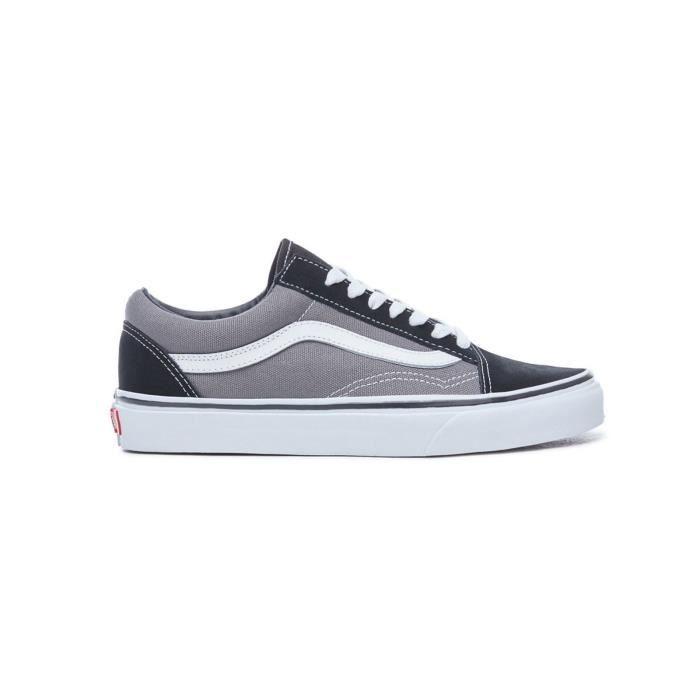 vans grise et noir