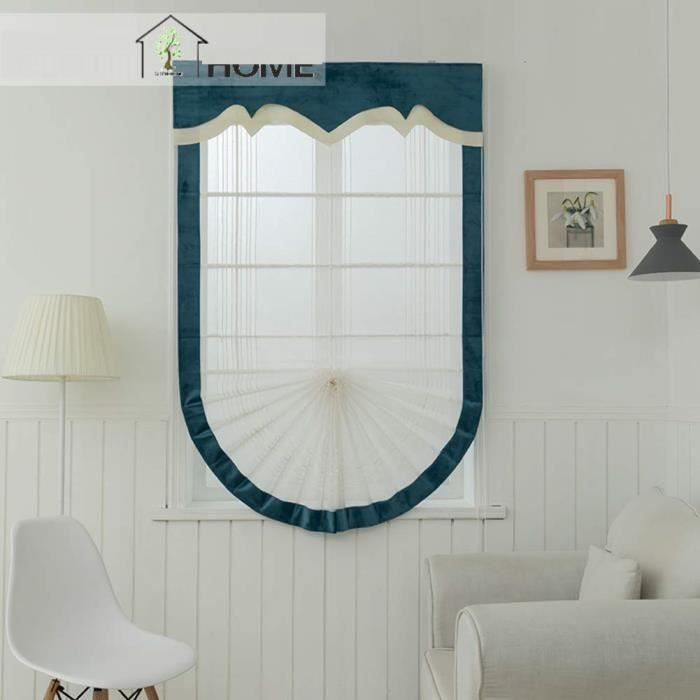 STORE DE FENÊTRE Horizontal Blinds Gaze écran de fenêtre en Forme d