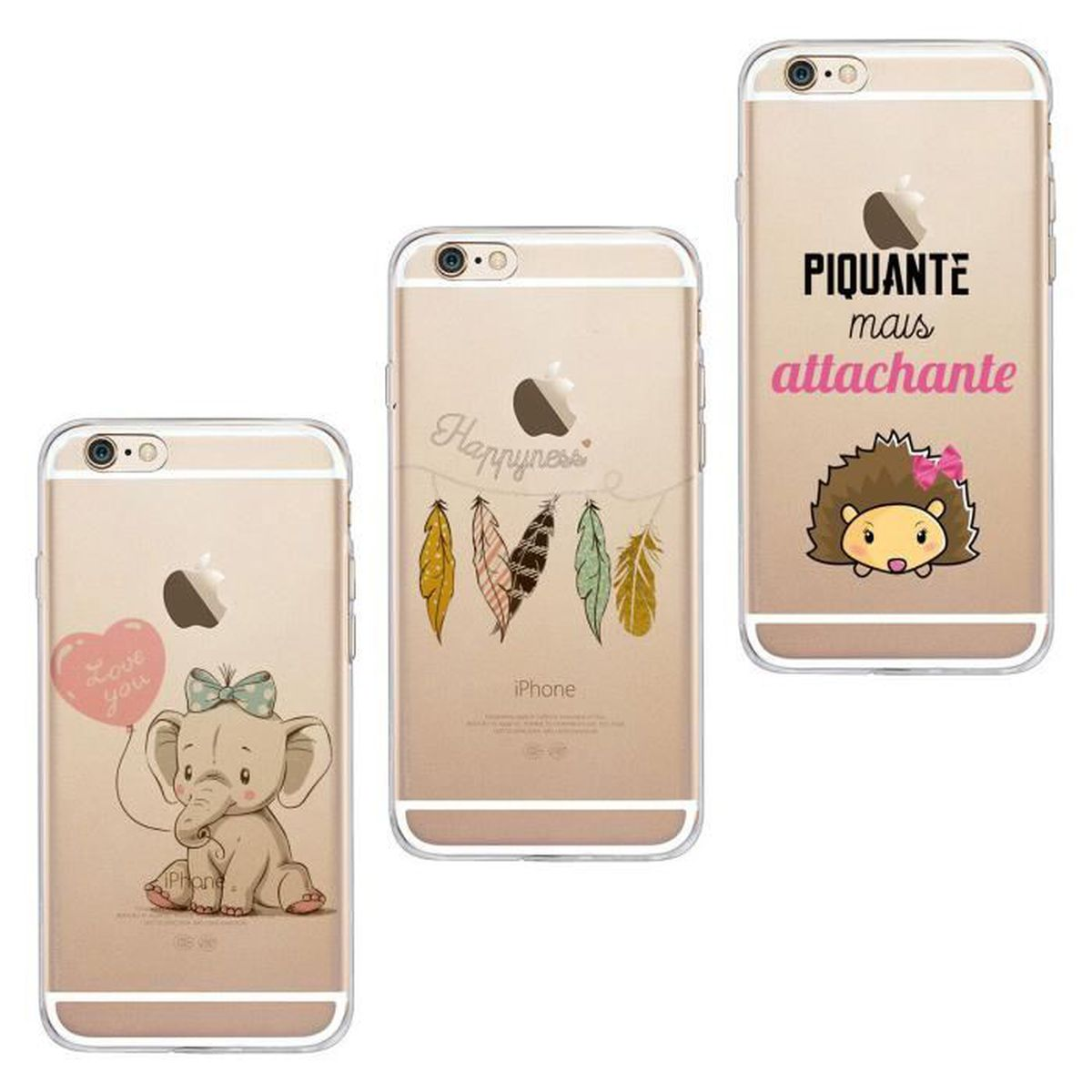 3x coques iphone 6