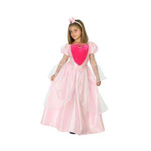 DÉGUISEMENT - PANOPLIE ATOSA Déguisement Princesse Rose - Panoplie Enfant