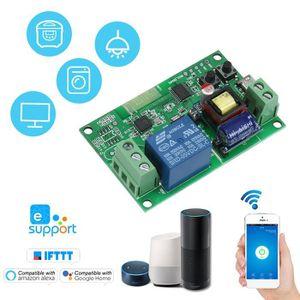 INTERRUPTEUR ÉLECTRO. Commutateur Wifi eWeLink DC5V / AC85-250V Module d