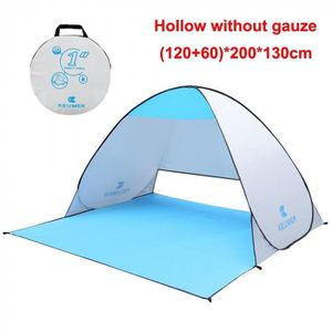 TENTE DE CAMPING Version Argent 2 L - Cn - Tente De Camping Automat