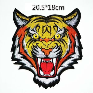 Patch écusson patche Tigre dorsal grande taille thermocollant