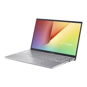 """Vente PC Portable ASUS Ultrabook - VivoBook 15 X512DA-EJ312T - Écran 39,6 cm (15,6"""") - 1920 x 1080 - Ryzen 5 3500U - 6 Go RAM - 512 Go SSD - Argent pas cher"""
