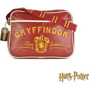 SACOCHE Sacoche à Bandoulière Harry Potter Gryffondor Uniq