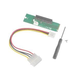 CARTE CONTROLEUR M.2 (NGFF) Carte d'adaptateur SSD vers PCI-e Expre