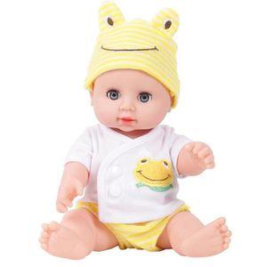 POUPÉE Émulé Blink Poupée souple bébé reborn poupée jouet