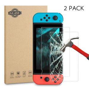 PROTECTION ECRAN JEUX Protection écran Nintendo Switch [2 unités] [Anti-