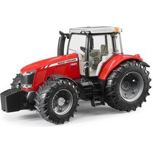 VOITURE - CAMION BRUDER - Tracteur MASSEY FERGUSON 7600