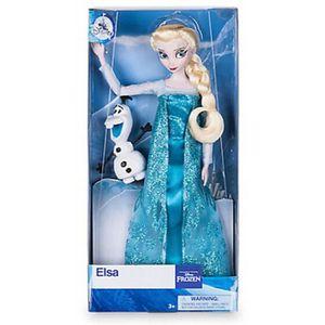 POUPÉE DISNEY Poupée Frozen Elsa [avec figurine Olaf] 1FL
