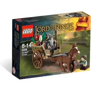 ASSEMBLAGE CONSTRUCTION Lego The Lord of The Ring L'Arrivée De Gandalf