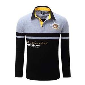 Polo rugby manche longue - Achat / Vente